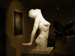 TOM MALEY FEMALE NUDE 1 EDITION OF 25 LIFE SIZE BRONZE