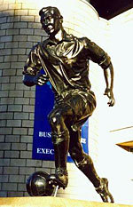 TOM MALEY JACKIE MILBURN HALF LIFE SIZE BRONZE EDITION OF 10