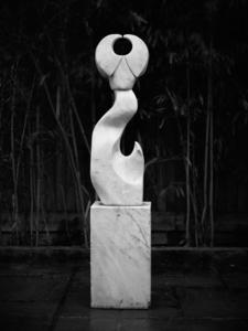 HORNEY TIE unique Cararra marble